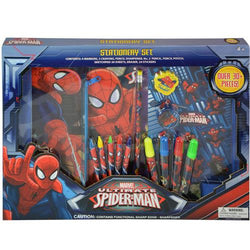 Spiderman 30pc Stationery in Box (12)