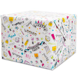 "Doodle Birthday Gift Wrap, 30"" x 5 ft"