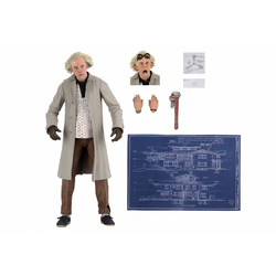 "Back to the Future – 7"" Scale Action Figure – Ultimate Doc Brown (6)"