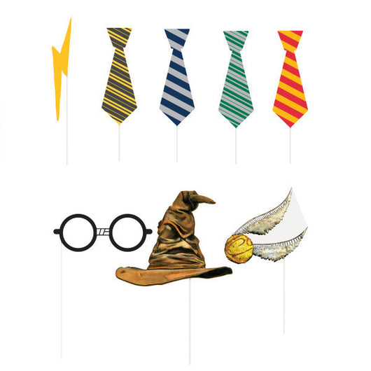 Harry Potter Photo Booth Props, 8ct