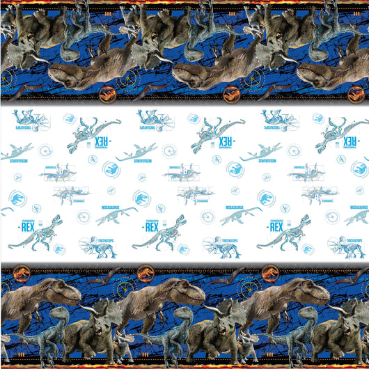 Jurassic World 2 Rectangular Plastic Table Cover, 54