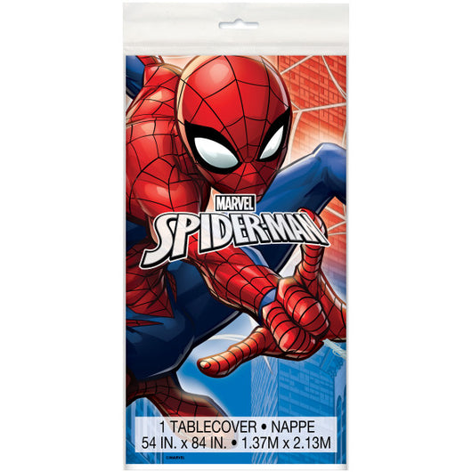 Spider-Man Plastic Table Cover, 54