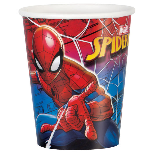 Spider-Man 9oz Paper Cups, 8ct