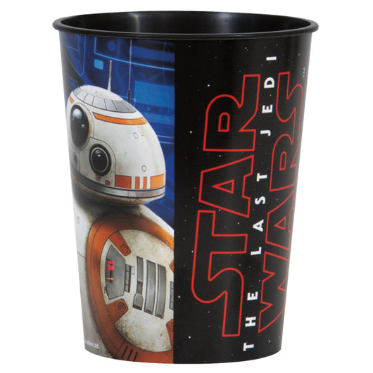 Star Wars Episode VIII 16oz Plastic Stadium Cup