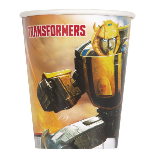 Transformers 9oz Paper Cups, 8ct