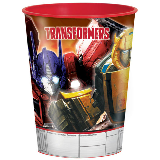 Transformers 16oz Plastic Stadium Cup