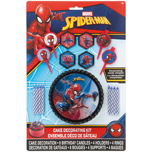 Spider-Man Cake Decorating Kit, 17pc