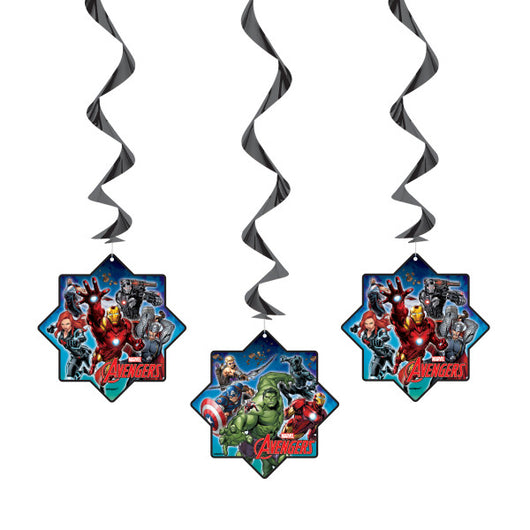 Avengers Hanging Swirl Decorations, 26