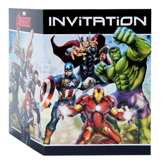 Avengers Invitations, 8ct