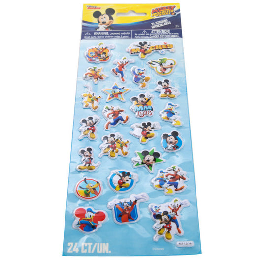 Mickey Roadster Puffy Stickers, 1ct.