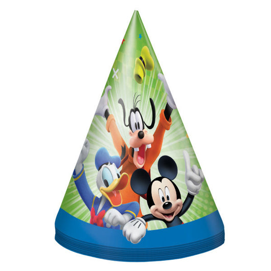 Mickey Roadster Party Hats, 8ct.
