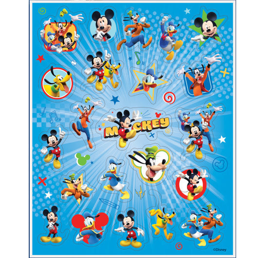 Mickey Roadster Sticker Sheets, 4ct.