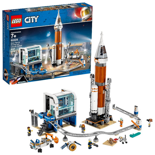 LEGO City Deep Space Rocket and Launch Control 60228 (2)