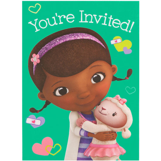 Disney Doc McStuffins Invitations, 8ct