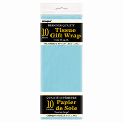 Baby Blue Tissue Sheets, 10ct