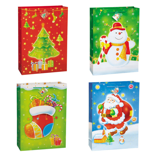 Christmas Delight Jumbo Gift Bag Assortment