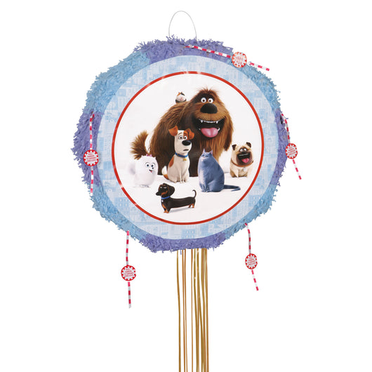 Secret Life of Pets Drum Pull Pop Out Pinata