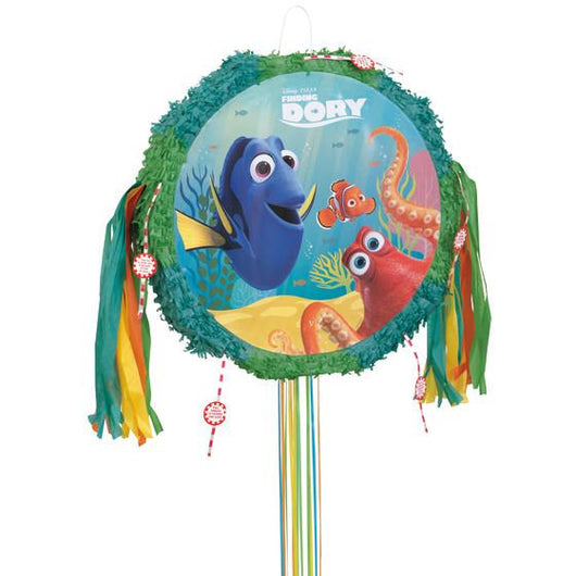 Disney Finding Dory Drum Pull Pop Out Pinata
