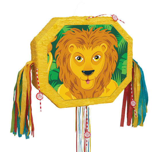 Lion Pull Pop Out Pinata