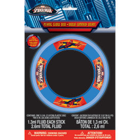 Ultimate Spider-Man Glow Flying Disk