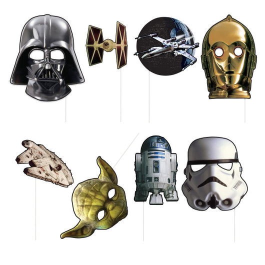 Star Wars Photo Booth Props, 8ct