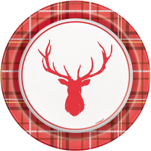 Plaid Deer Christmas Round 7