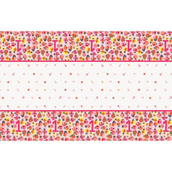 Ladybug 1st Birthday Rectangular Plastic Table Cover, 54