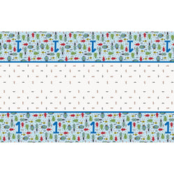 Bug 1st Birthday Rectangular Plastic Table Cover, 54