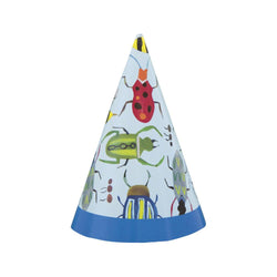 Bug 1st Birthday Mini Party Hats, 8ct