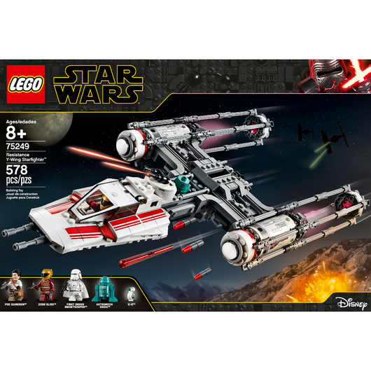 LEGO Star Wars Resistance Y-Wing Starfighter 75249 (4)