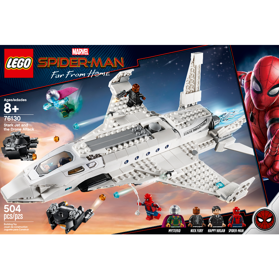 LEGO Spider-Man 2 Homecoming Stark Jet and the Drone 76130 (3)