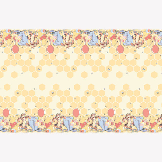 Disney Winnie the Pooh Rectangular Plastic Table Cover, 54
