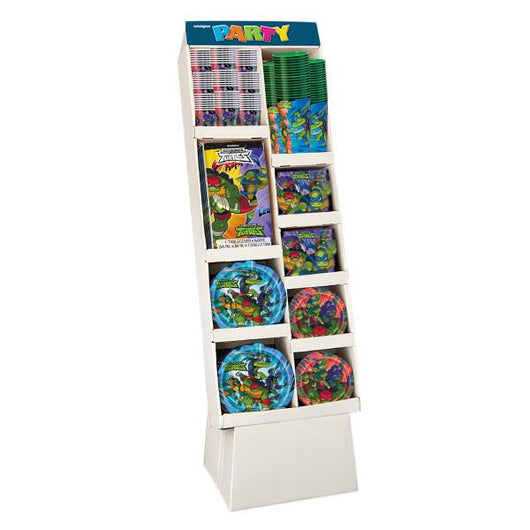 Rise of the TMNT LC Floor Display, 171pc