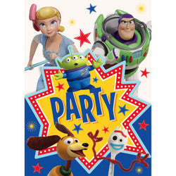 Disney Toy Story 4 Invitations, 8ct