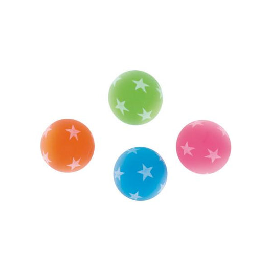 Glow in the Dark Bounce Ball Favors, 8ct