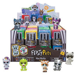 Feisty Pets Feature Blind Pack Assortment in 24pc PDQ (48)