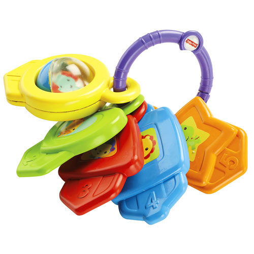 Fisher-Price Shapes & Colors Keys (4)