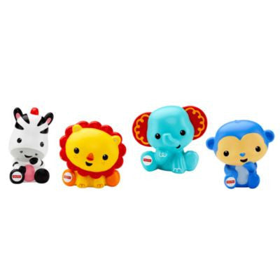 Fisher-Price Rainforest Bath Squirters (4)