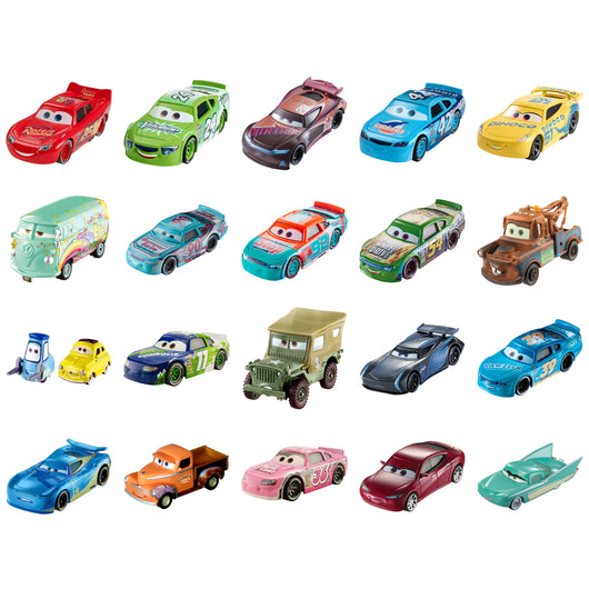 Disney Pixar Cars 3 Character Cars Assortment Movie (24)