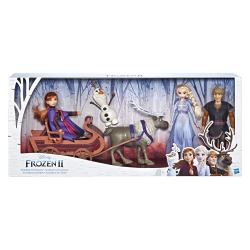 Disney Frozen 2 Character Mulitpack with Sled (2)