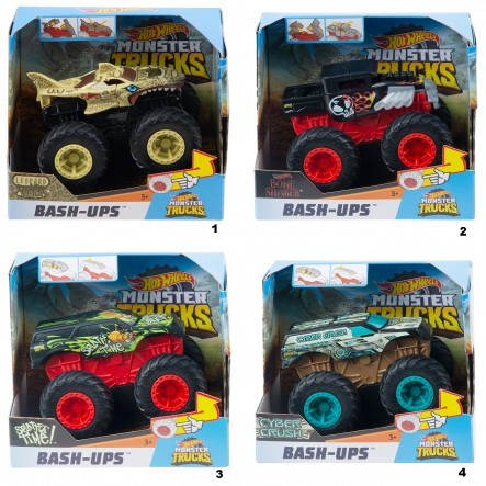 Hot Wheels Bash Ups Assortment (4)