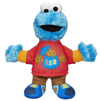 Playskool Sesame Street Talking 123 Cookie Monster Figure (2)
