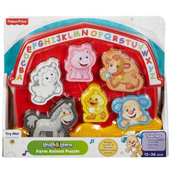 Fisher-Price Laugh & Learn Farm Animal Puzzle (4)