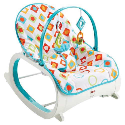 Fisher-Price Infant-to-Toddler Rocker Geo Diamonds (2)