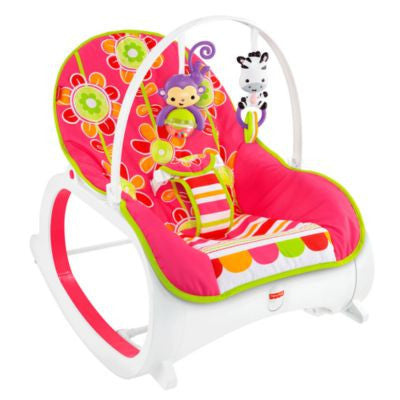 Fisher-Price Infant-to-Toddler Rocker Floral Confetti (2)