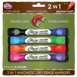 The Board Dudes 4ct. Double Ended Marker Medium Point (24)