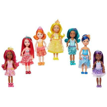 Barbie Dreamtopia Rainbow Cove Sprite Doll Assortment (6)