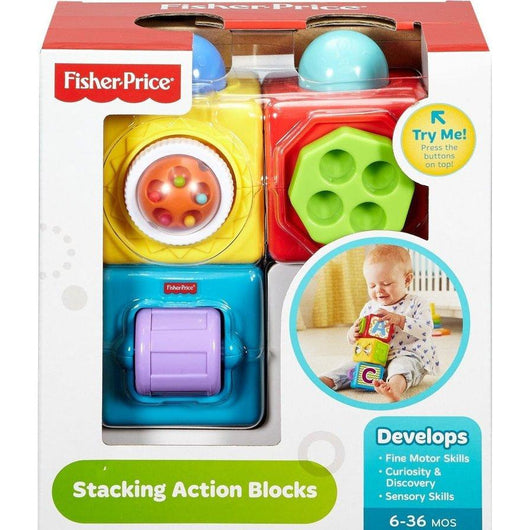 Fisher-Price Stacking Action Blocks (2)