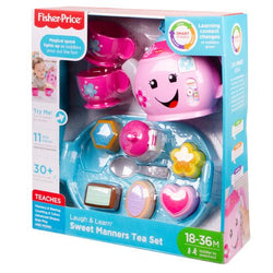 Fisher-Price Laugh & Learn Sweet Manners Tea Set with Lights & Sounds (2)