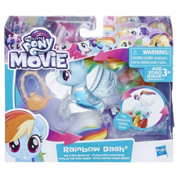My Little Pony The Movie Flip and Flow Tail Sea Assortment (4)